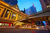 """""""Grand Central along 42nd Street at dusk, New York City"""""""