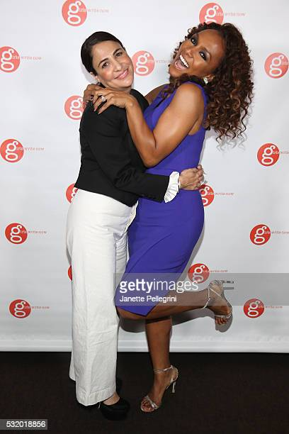 Groundbreaker Honoree Jenni Konner Executive producer writer director HBO's Girls Cofounder LennyLettercom and Trailblazer Honoree Janet Mock Author...