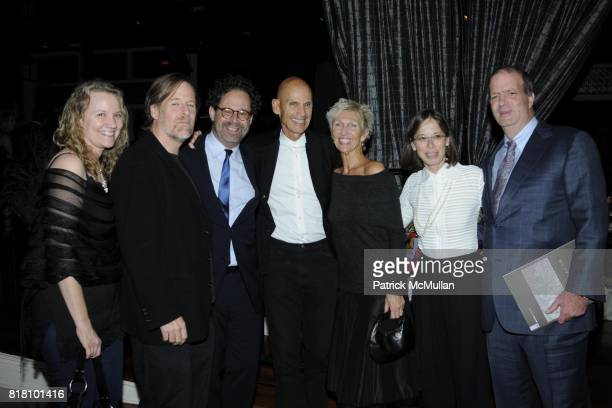 Group attends Aperture Foundation 2010 in Benefit and Auction honoring Richard Misrach Steven Ames and Julie Saul at Chelsea Piers on November 1 2010...