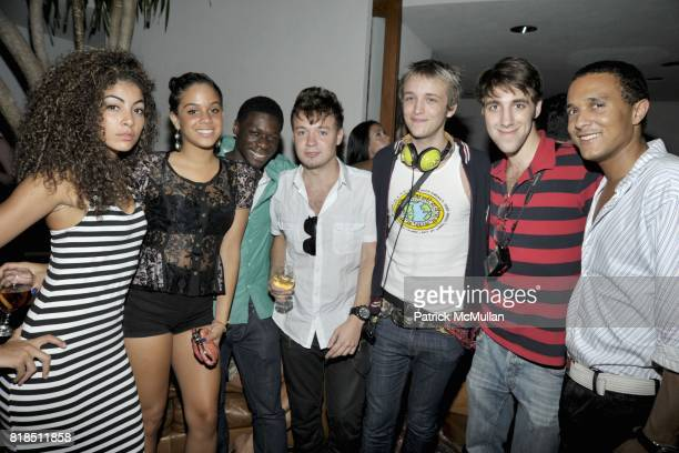 Group attends Eric Lerner Frank Cascio Celebrate their birthdays with Host Sean Parker and CoHosts Denise Rich Romero Britto and Patrick McMullan at...