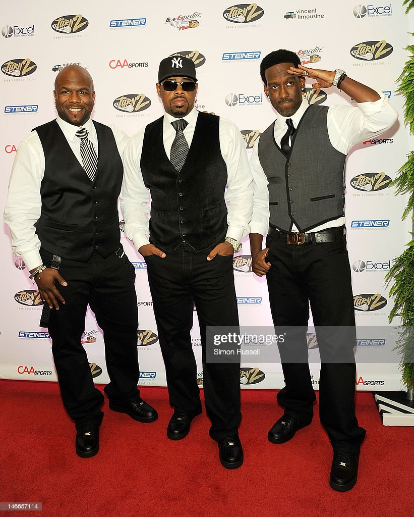 Group <a gi-track='captionPersonalityLinkClicked' href=/galleries/search?phrase=Boyz+II+Men&family=editorial&specificpeople=592473 ng-click='$event.stopPropagation()'>Boyz II Men</a> attends the 16th Annual Turn 2 Foundation Dinner Hosted By Derek Jeter at New York Sheraton Hotel & Tower on June 21, 2012 in New York City.