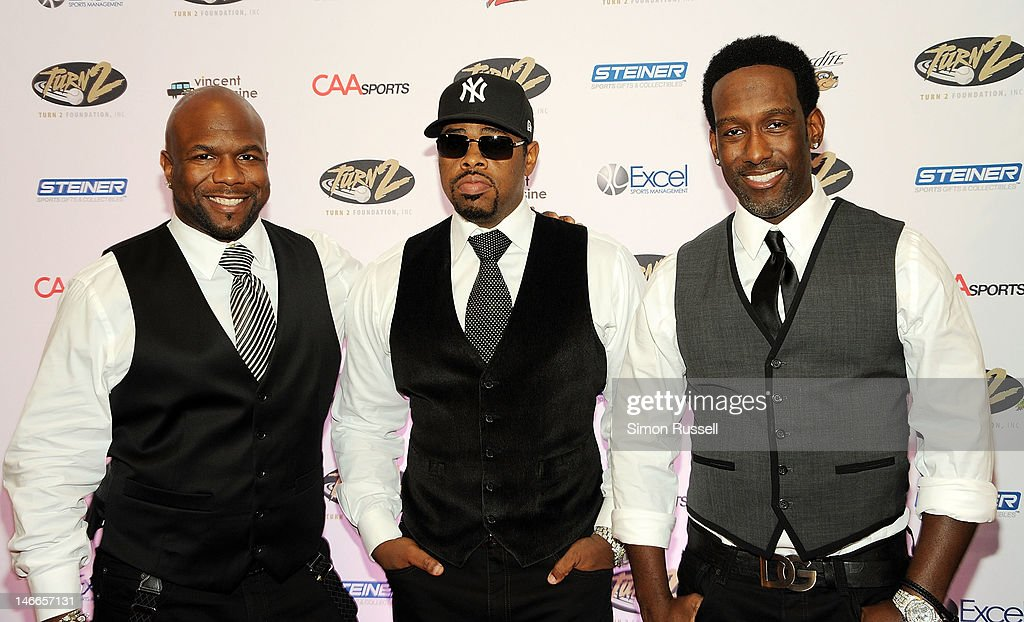Group <a gi-track='captionPersonalityLinkClicked' href=/galleries/search?phrase=Boyz+II+Men&family=editorial&specificpeople=592473 ng-click='$event.stopPropagation()'>Boyz II Men</a> attends the 16th Annual Turn 2 Foundation Dinner Hosted By <a gi-track='captionPersonalityLinkClicked' href=/galleries/search?phrase=Derek+Jeter&family=editorial&specificpeople=167125 ng-click='$event.stopPropagation()'>Derek Jeter</a> at New York Sheraton Hotel & Tower on June 21, 2012 in New York City.