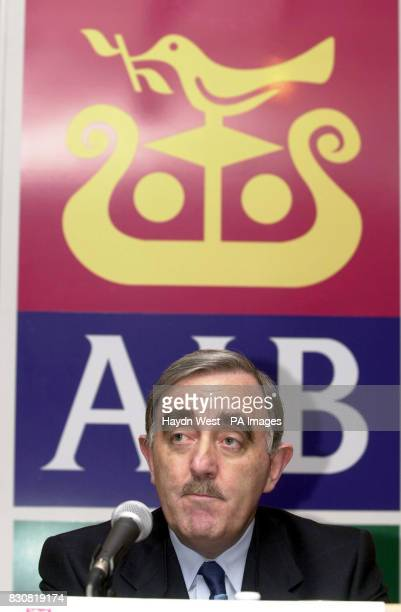 Group Chief Executive of Allied Irish Banks Michael Buckley at a press conference in Dublin where It was announced that six bosses at Allied Irish...