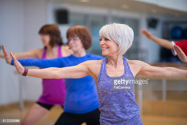 Group Exercise Class at the Gym