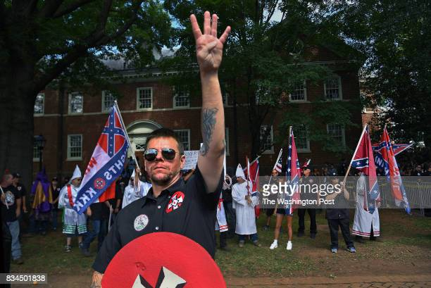 KKK group from North Carolina called the Loyal White Knights protested in Justice Park because they aren't happy with decisions being made by the...