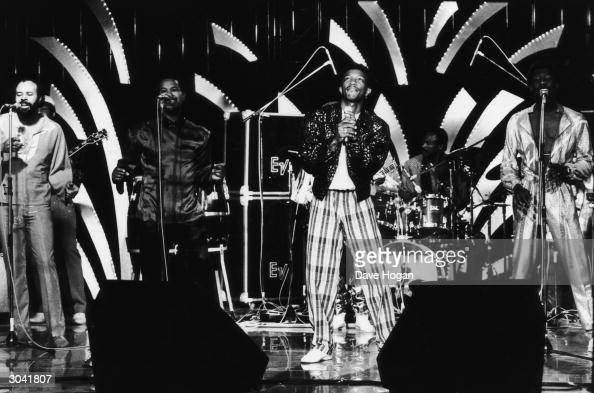 RB group Kool and the Gang in performance 1985