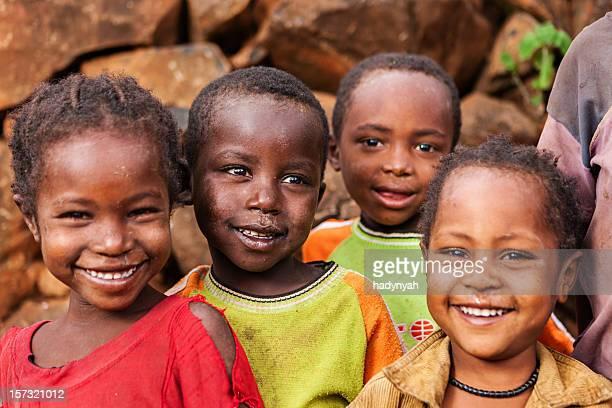 Gruppo di bambini africani, Africa orientale