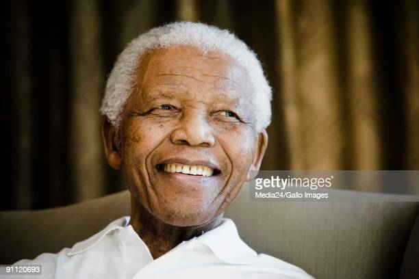 A group of American and South African students aged from 11 to 19 met with Nelson Mandela at the Nelson Mandela Foundation in Johannesburg on 2 June...