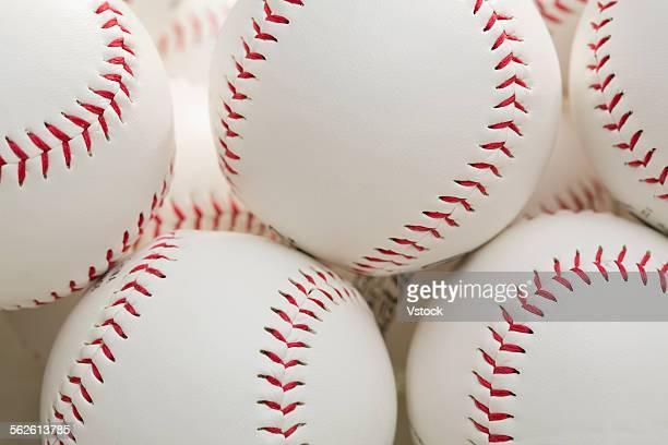 Group of baseballs