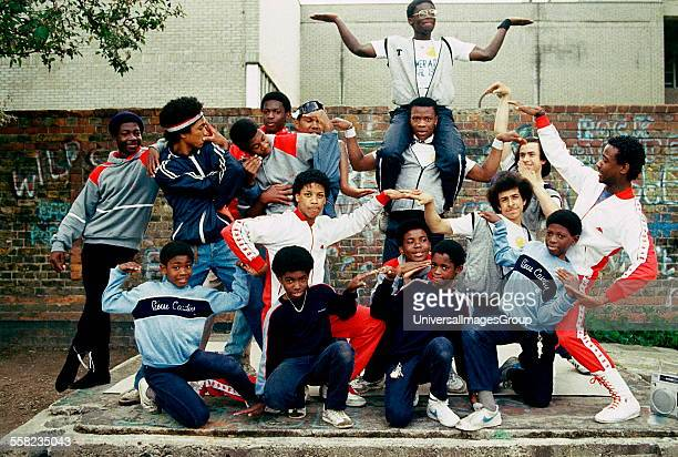 A Group of Breakdancers London 1983