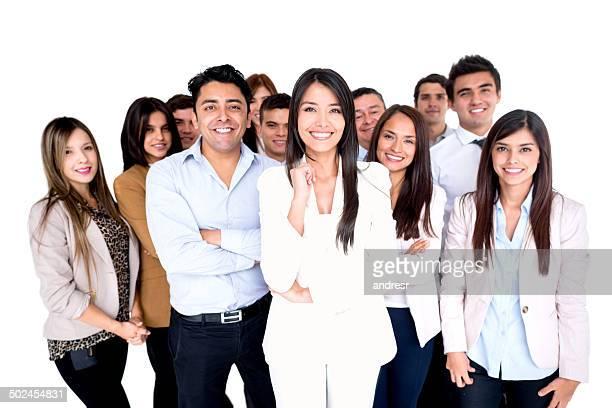 Gruppe des business Personen