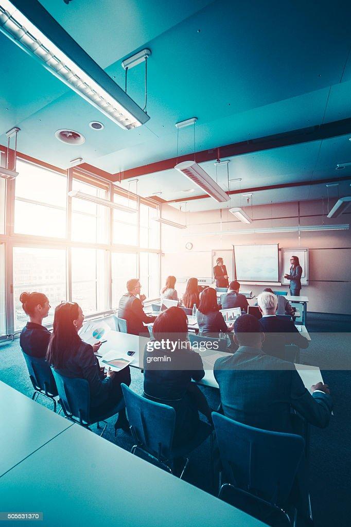 Gruppe des business Personen, ein seminar, Büro, Bildung und : Stock-Foto