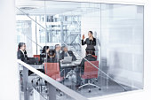 Group of businesspeople in meetingroom