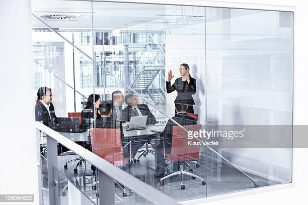 Group of businesspeople in meetingroom