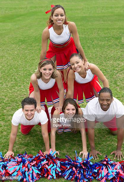 Group of Cheerleaders
