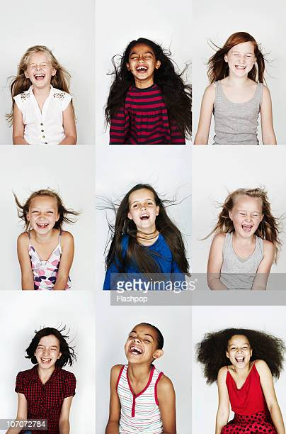 Group of children laughing