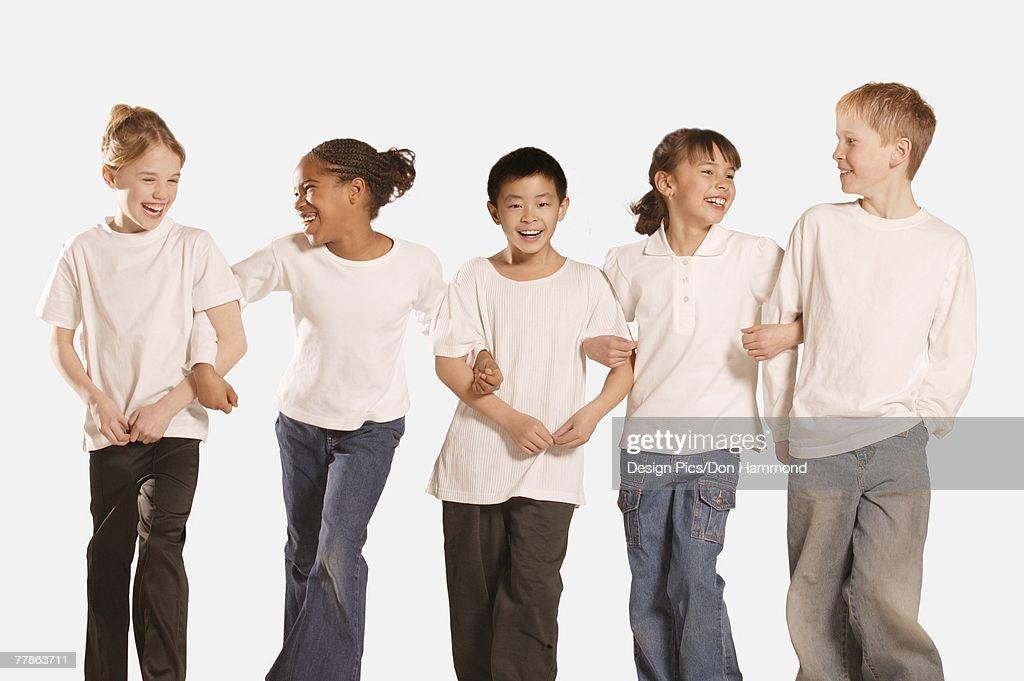 Group of children : Stock Photo