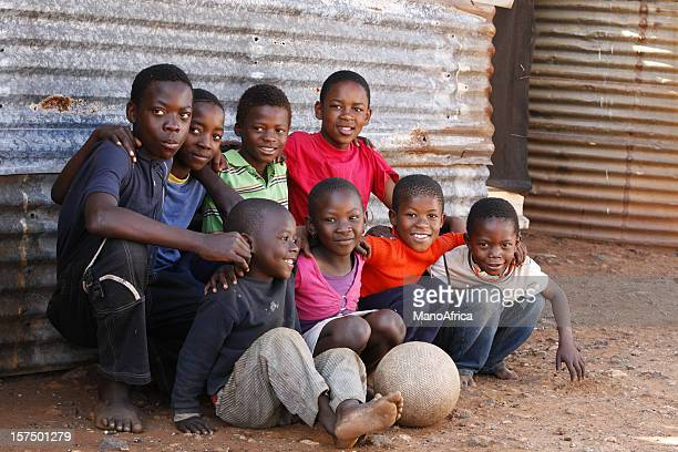 Group of children South Africa