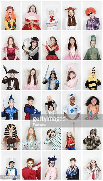 Group of children wearing fancy dress