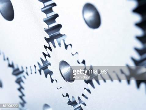 Group of cogs : Foto de stock