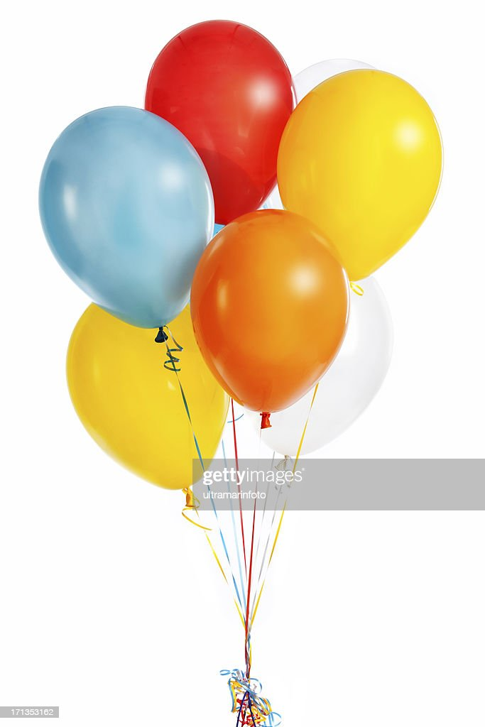Group of colorful balloons : Stock Photo