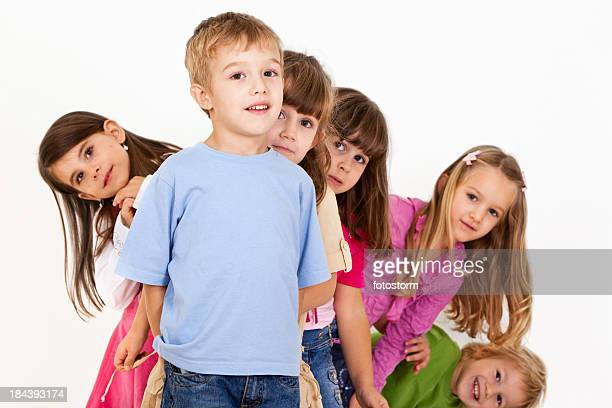 Group Of Cute Children