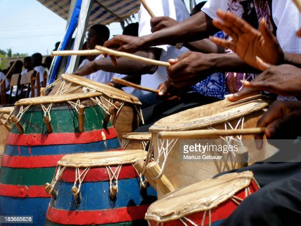 CONTENT] Group of Djembe drummer in Ghana West Africa
