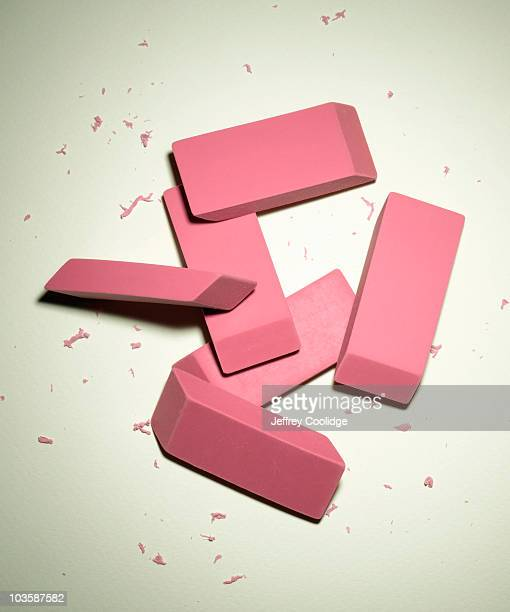 Group of Erasers