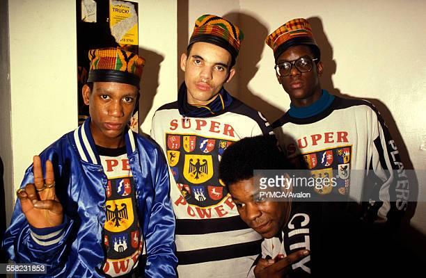 Group of Hip Hop fans UK 1990's
