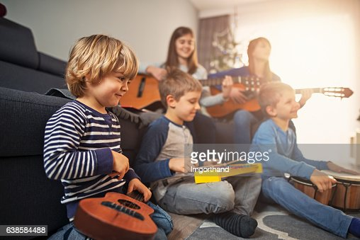 What is it called when music groups play together for a ...