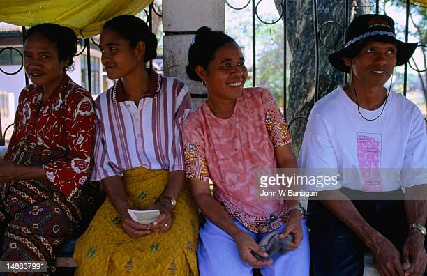 A group of local East Timorese.