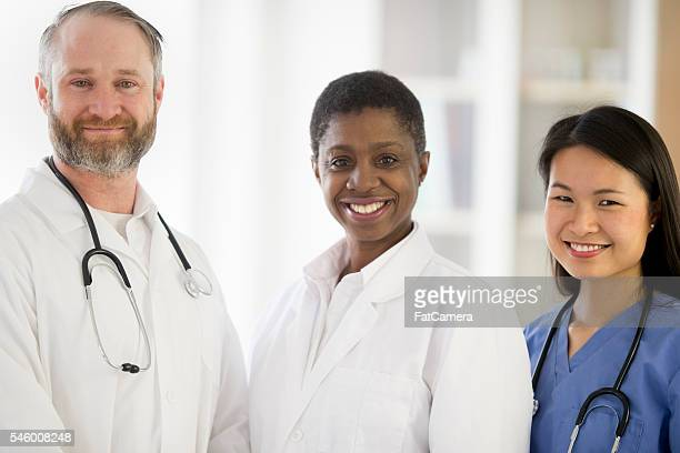 Group of Medical Professionals Standing Together