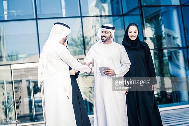 Group of Middle Easterns Arabs, Dubai, UAE