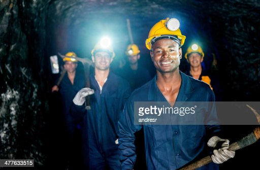 Group of miners