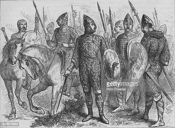Group of Norman Soldiers ' c1880 The Battle of Hastings was fought on 14 October 1066 between the NormanFrench army of William the Duke of Normandy...