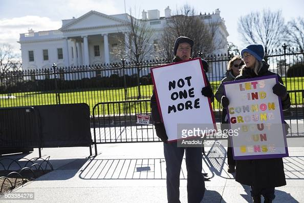 Gun Control Demonstration at the White House Pictures ...