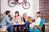 Cafe, Friends, Bar, Fun, Meeting, Talking, Relaxation, Drink, Break,