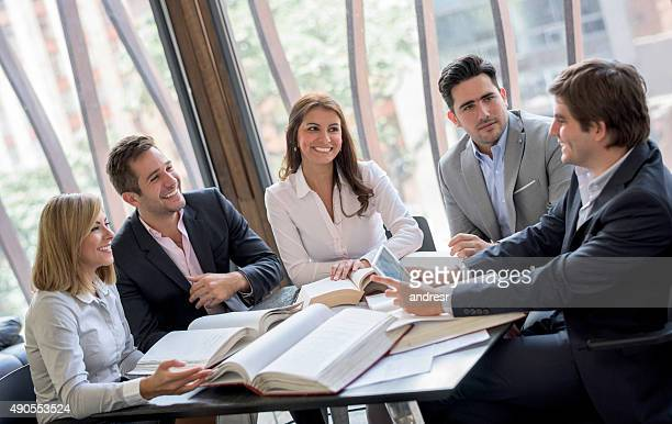 Group of people in a business meeting