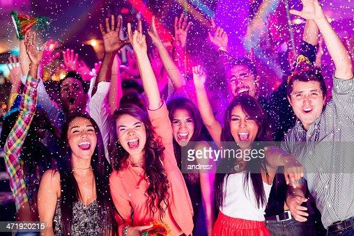 人々の集まりのパーティ