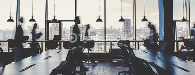 Group of people working in modern office : Stock Photo