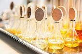 Group of Perfume glass bottles