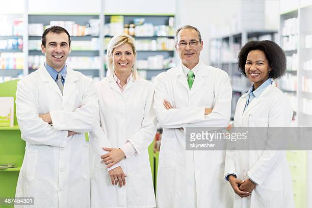 Group of pharmacists.