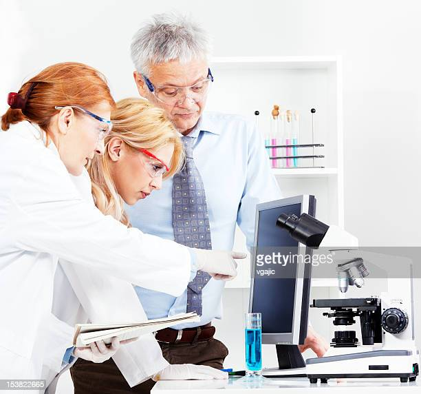 Group of scientists in a laboratory