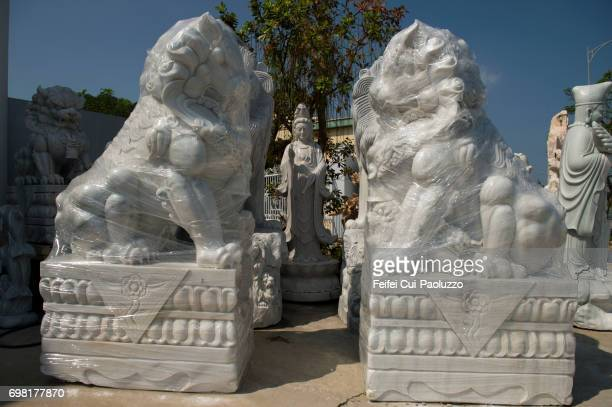 Group of sculpture at Da Nang in South Central Coast, Central Vietnam.