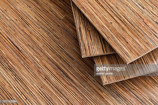 Group of seagrass floorboards, floor panels background