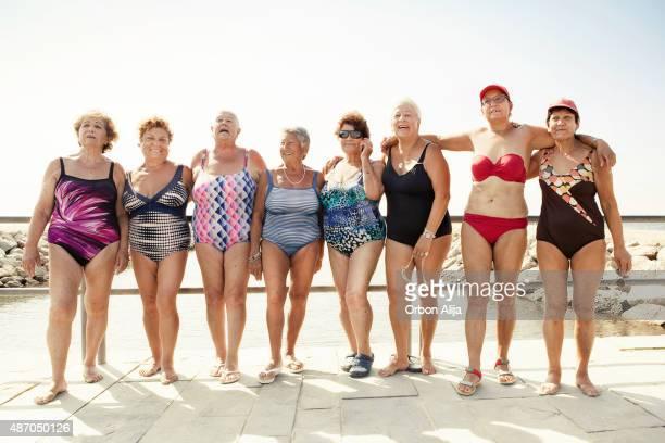 Groupe de femmes seniors