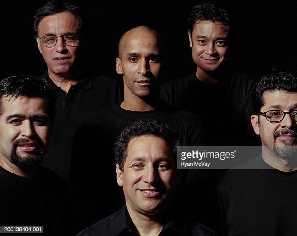 Group of six men, portrait
