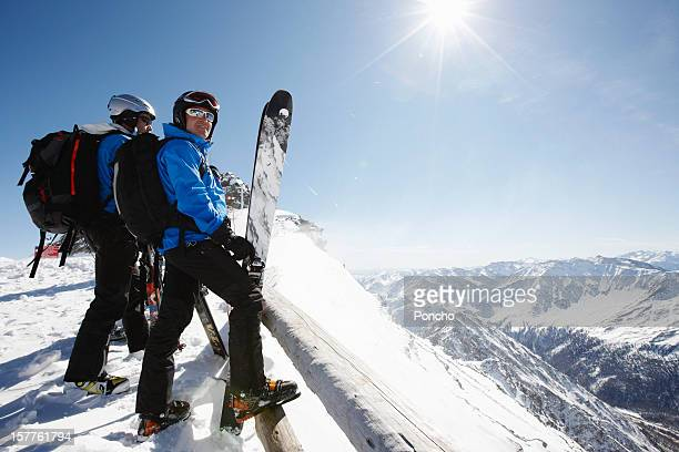 Group of Skier at Mountain Top