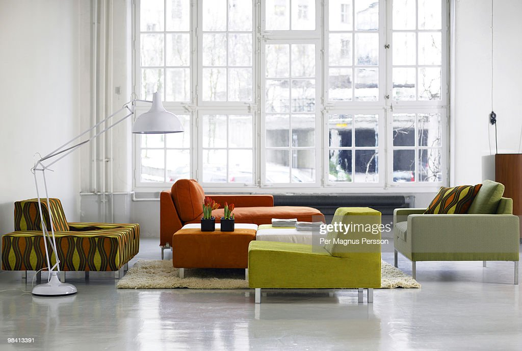 A group of sofa and armchairs Sweden.