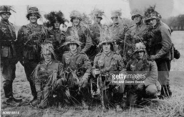 A Group of Soldiers Wearing Camouflage